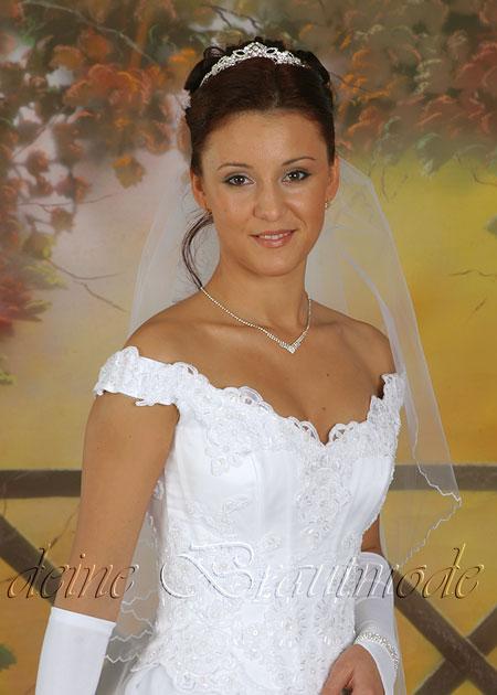 Details zu Luxuriöses Brautkleid Hochzeitskleid Kleid lange Schleppe ...