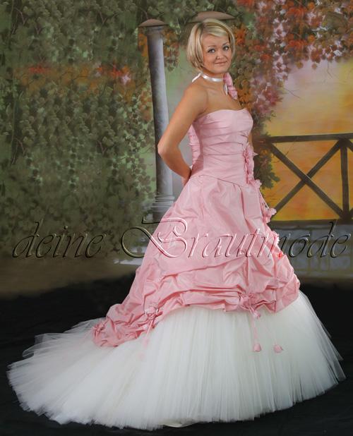 Details about Luxuriöses modisches Brautkleid Traumkleid Tüll NEU 1A